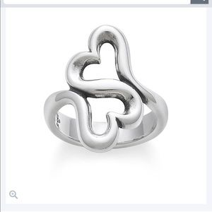 James Avery Heart to Heart Ring